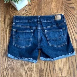 American Eagle Cutoff Rolled Jean Shorts